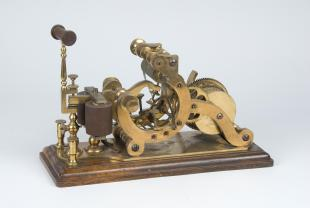 weight-driven printing telegraph