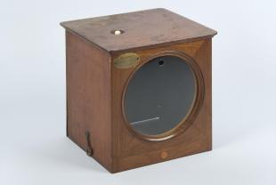 wood case for dial telegraph receiver