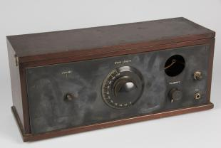 homemade 2-tube radio receiver