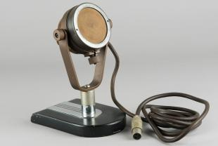 Western Electric model 618A microphone on table stand