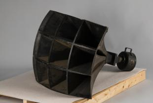 WE model 26A horn with 594A field coil driver loudspeaker