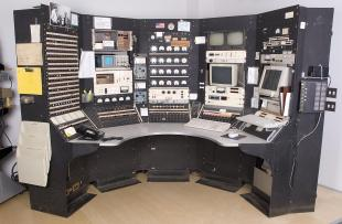 control console from Harvard Cyclotron Laboratory